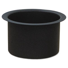 "Ex-Cell RC-MTR-PLTR Fire-Safe Recycling Receptacle Planter Kit, 9-1/4"" Diameter, Black"