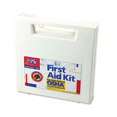 First aid only - first aid kit for 50 people, 195 pieces, osha/ansi compliant, plastic case, sold as 1 ea