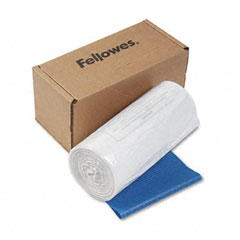 Fellowes - powershred shredder bags, 50 bags & ties/carton, sold as 1 ct