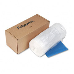 Fellowes - powershred shredder bag f/models c-325i and c-325ci, 50 bags & ties/carton, sold as 1 ct