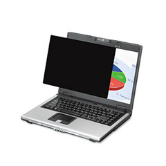 Fellowes - black-out antiglare privacy filter for 17-inch lcd/notebook, frameless, sold as 1 ea