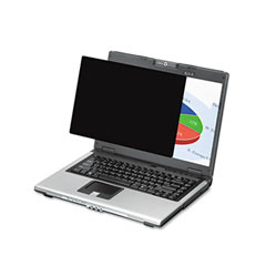 Fellowes - black-out privacy frameless filter for 19-inch lcd/notebook, antiglare, sold as 1 ea