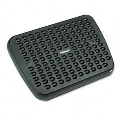 Fellowes - standard footrest, adjustable, 17-5/8w x 13-1/8d x 3-3/4h, graphite, sold as 1 ea