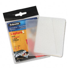 Fellowes 52007 Laminating Pouches, 5 Mil, 2-5/8 X 3-7/8, Id Size, 25/Pack
