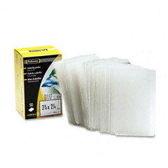 Fellowes - laminating pouch, 10 mil, 2-1/4 x 3-3/4, business card size, 100/pack, sold as 1 pk