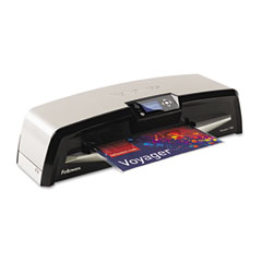 Fellowes - voyager vy 125 laminator, 12 1/2 inch wide, 10 mil maximum document thickness, sold as 1 ea