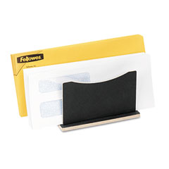 Fellowes 8015701 Small File Sorter, 5 1/2 X 5 1/2 X 4 7/8, Black Fiber Board