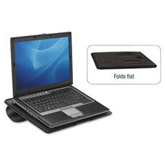 Fellowes - laptop riser, non-skid, 15 x 10 3/4 x 5/16, black, sold as 1 ea