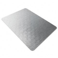 Floortex - polycarbonate chair mat, 47 x 35, clear, sold as 1 ea