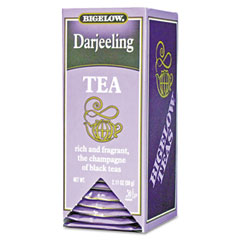 Bigelow 00349 Single Flavor Tea, Darjeeling, 28 Bags/Box