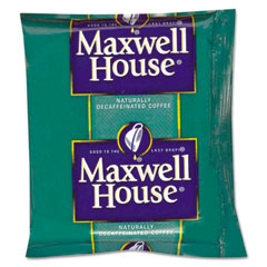 Maxwell house - coffee, original roast decaf, 1.1 oz. pack, 42/carton, sold as 1 ct