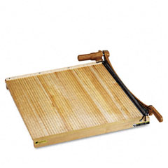 "Swingline 1162 Classiccut Ingento Solid Maple Paper Trimmer, 15 Sheets, Maple Base, 24"" X 24"""