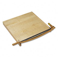 "Swingline 1172 Classiccut Ingento Solid Maple Paper Trimmer, 15 Sheets, Maple Base, 30"" X 30"""