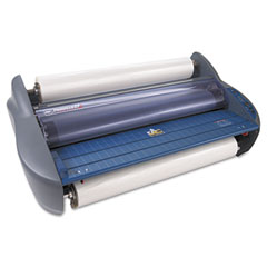 "Gbc Quartet 1701700 Pinnacle 27 Two-Heat Roll Laminator, 27"" Wide, 3Ml Maximum Document Thickness"