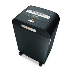 Gbc swingline - dx18-13 medium-duty cross-cut shredder, 18 sheet capacity, sold as 1 ea