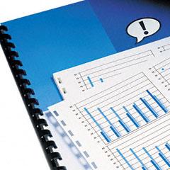Gbc Quartet 2020046 Combbind Prepunched Paper, 8-1/2 X 11, White, 500/Pack