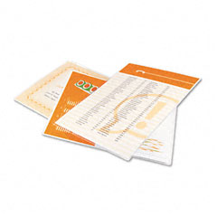 Gbc Quartet 3200577B Heatseal Laminating Pouches, 3 Mil, 9 X 11-1/2, 25/Pack