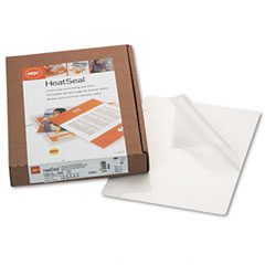 Gbc Quartet 3200586 Heatseal Laminating Pouches, 3 Mil, 8-1/4 X 11-1/4, 100/Box