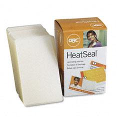 Gbc Quartet 3740412 Heatseal Laminating Pouches, 10 Mil, 2-3/16 X 3-11/16, Business Card Size, 100