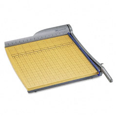 "Swingline 9118 Classiccut Pro Paper Trimmer, 15 Sheets, Metal/Wood Composite Base, 18"" X 18"""