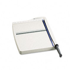 Swingline - classiccut lite paper trimmer, 10 sheets, gray plastic base, 15-inch x 22 1/2-inch, sold as 1 ea