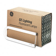 "General Electric 12203 22 1/2"" Fluorescent U-Bent Tube, 35 Watts, 12/Carton"