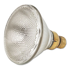 General Electric 24865 Incandescent Indoor Reflector Floodlight Bulb, 100 Watts, 130 Volt