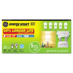 General Electric 73864 Compact Fluorescent Bulb, 26 Watt, T3 Spiral, Soft White