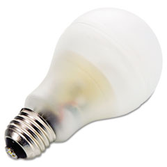 General Electric 74437 Compact Fluorescent Bulb, 15 Watt, A19 Globe, Soft White