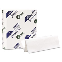 Georgia Pacific 20389 Paper Towel, Multi-Fold Hand Towel, 9 1/4 X 9 1/2, White, 250/Pack, 16/Carton