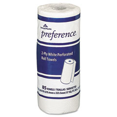 Georgia Pacific 27385 Perforated Paper Towel Roll, 8-4/5 X 11, White, 85/Roll, 30/Carton