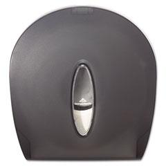 Georgia Pacific 59009 Jumbo Jr. Bathroom Tissue Dispenser, 10.61 X 5.39 X 11.29, Translucent Smoke