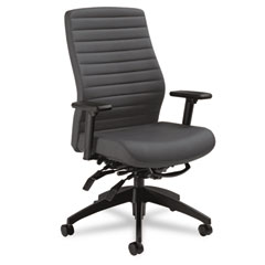 Global 28513SO47 Aspen Series High-Back Multi-Tilt Chair, Onyx Vinyl