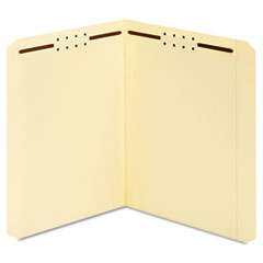 Globe-Weis 24513 Manila Folders, Two Fasteners, Straight, Letter, 50/Box