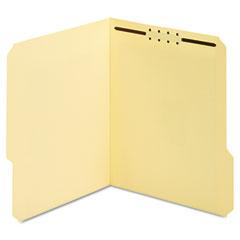Globe-Weis 24534 Manila Folders, One Fastener, 1/3 Tab, Letter, 50/Box
