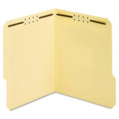Globe-Weis 24537 Manila Folders, Two Fasteners, 1/3 Tab, Letter, 50/Box