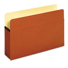 Globe-Weis 64224 Standard File Pocket, Brown, 3 1/2 Inch Expansion, Legal