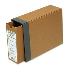 "Globe-Weis B50BC Recycled Fiberboard Binding Case, 11 X 8-1/2, 2-1/2"" Capacity, Kraft"