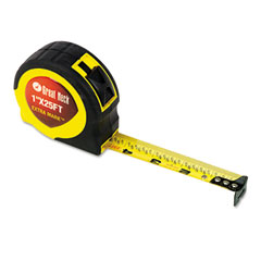 Great neck - extramark power tape, 1-inch x 25ft, steel, yellow/black, sold as 1 ea