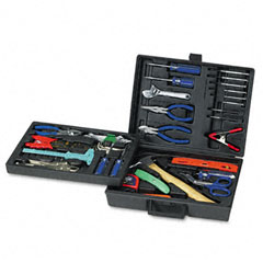 Great Neck TK110 110-Piece Home/Office Tool Kit, Drop Forged Steel Tools, Black Plastic Case