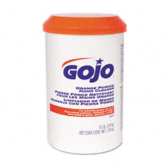 Gojo 0975-06EA Orange Pumice Hand Cleaner, Orange Scent, 4.5Lb Tub