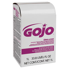 Gojo 2117-08CT Nxt Lotion Soap W/Moisturizer Refill, Light Floral Liquid, 1000Ml Box, 8/Carton
