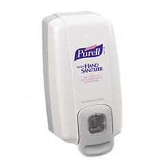 Gojo 2120-06 Nxt Instant Hand Sanitizer Dispenser, 1000Ml, 5-1/8W X 4D X 10H, We/Gray