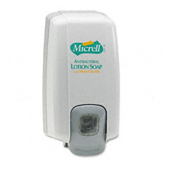 Gojo 2125-06 Micrell Nxt Lotion Soap Dispenser, 1000Ml, 5-1/8W X 3-3/4D X 10H, Dove Gray