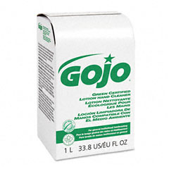 Gojo 2165-08 Nxt Green Seal Certified Hand Wash Refill, Unscented, 1000Ml Box