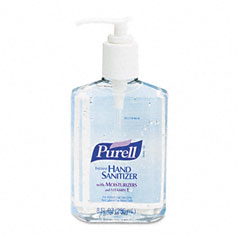 Purell - instant hand sanitizer, 8-oz. pump bottle, sold as 1 ea
