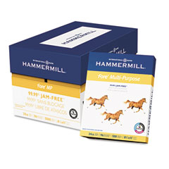 Hammermill 10328-3 Fore Mp Multipurpose Paper, 96 Brightness, 24Lb, 8-1/2 X 11, 5000/Carton