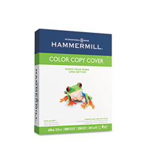 Hammermill - color copy digital cover stock, 60 lbs., 8-1/2 x 11, white, 250 sheets, sold as 1 pk