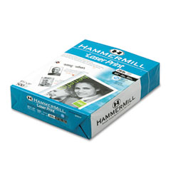 Hammermill - laser print office paper, 98 brightness, 28lb, 8-1/2 x 11, white, 500 shts/ream, sold as 1 rm