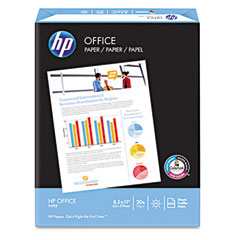 Hp 00142-2 Office Paper, 92 Brightness, 20Lb, 8-1/2 X 14, White, 500 Sheets/Ream